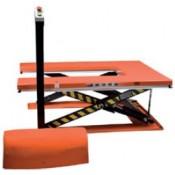 """Table élévatrice fixe, modèle basse, forme """"U"""" REMA type HSU"""